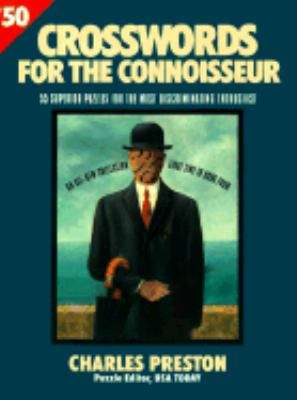 Crossword Puzzles for the Connoisseur 50 9780399521164