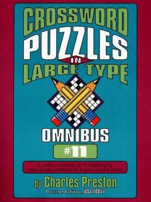 Crossword Puzzles in Large Type Omnibus 11