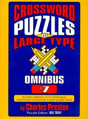 Crossword Puzzles in Large Type Omnibus 7 9780399519642