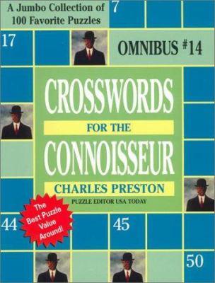 Crosswords for the Connoisseur Omnibus 14 9780399527777