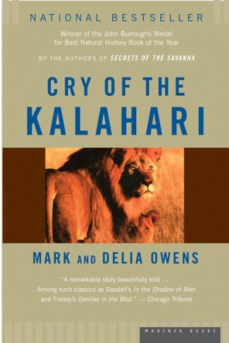 Cry of the Kalahari 9780395647806