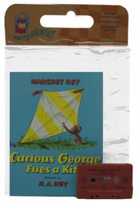 Curious George Flies a Kite Book & Cassette [With Book] 9780395857595