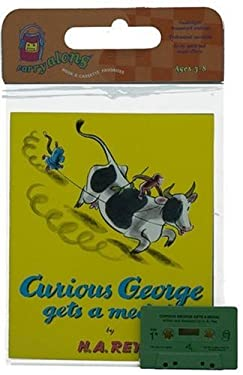 Curious George Gets a Medal Book & Cassette [With Book] 9780395891155