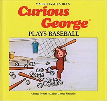 Curious George Plays Baseball 9780395390412