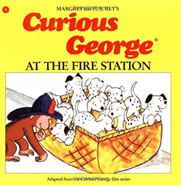 Curious George at the Fire Station 9780395390313