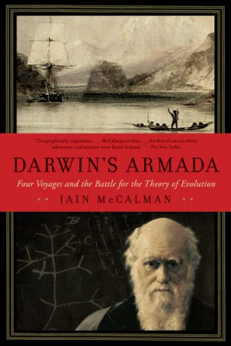 Darwin's Armada: Four Voyages and the Battle for the Theory of Evolution 9780393338775