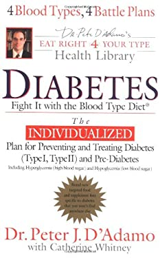 Diabetes: Fight It with the Blood Type Diet 9780399151026