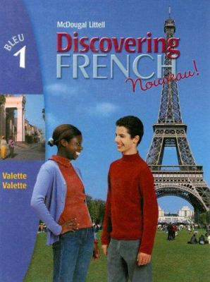 Discovering French Blue 1 9780395874820