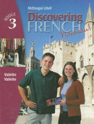 Discovering French Nouveau!: Rouge 3 9780395874868