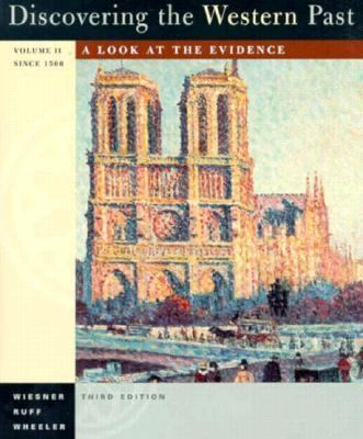 Discovering the Western Past: A Look at the Evidence 9780395796702