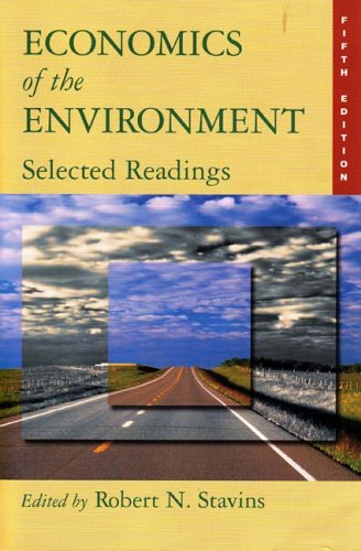 "cover of ""Economics of the Environment: Selected Readings"""