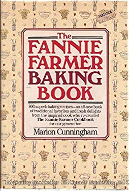 Fannie Farmr Baking Bk 9780394533322