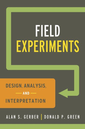 Field Experiments: Design, Analysis, and Interpretation 9780393979954