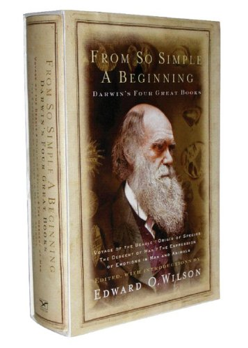 From So Simple a Beginning: The Four Great Books of Charles Darwin 9780393061345