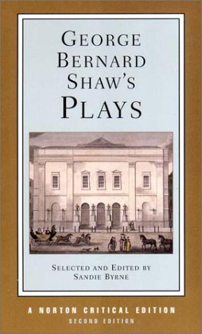 George Bernard Shaw's Plays 9780393977530