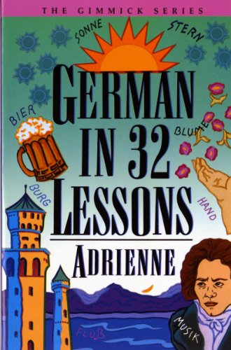 German in 32 Lessons 9780393314977