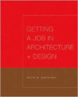 Getting a Job in Architecture and Design 9780393732177