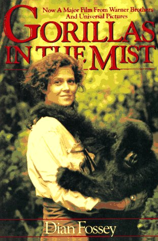 Gorillas in the Mist Dian Fossey 1st Edition 1983 HC DJ Classic Hardcover