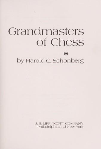 Grandmasters of chess