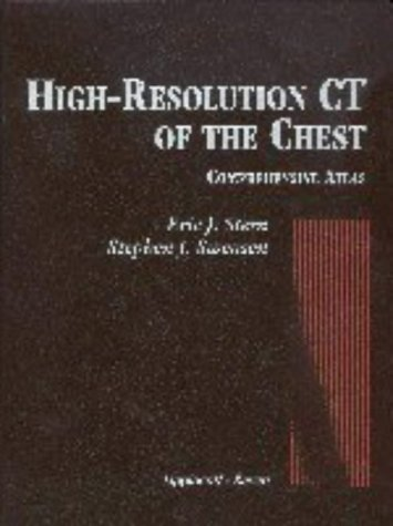High Resolution CT of the Chest: A Comprehensive Atlas 9780397514519