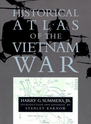 Historical Atlas of the Vietnam War 9780395722237