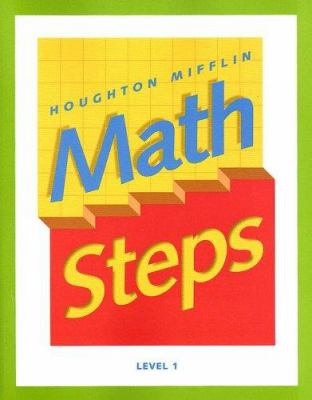 Houghton Mifflin Math Steps: Level 1 9780395985328