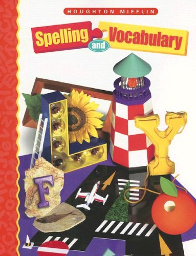Houghton Mifflin Spelling and Vocabulary 9780395855331