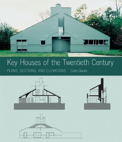 Key Houses of the Twentieth Century: Plans, Sections and Elevations [With CDROM] 9780393732054