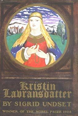 Kristin Lavransdatter 9780394432625