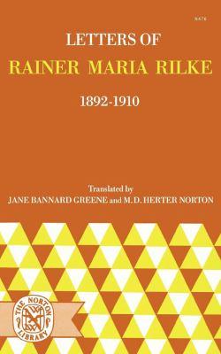 Letters of Rainer Maria Rilke: 1892-1910 9780393004762
