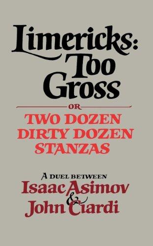 Limericks : Too Gross or Two Dozen Dirty Stanzas