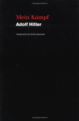 Mein Kampf 9780395925034