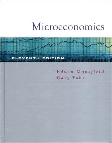 Microeconomics: Theory/Applications 9780393979183