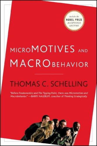 Micromotives and Macrobehavior 9780393329469