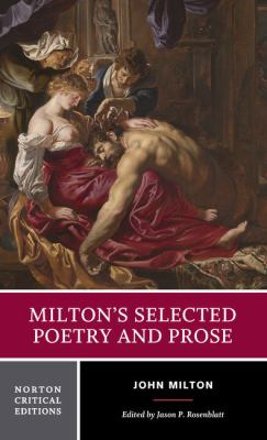 Milton's Selected Poetry and Prose 9780393979879