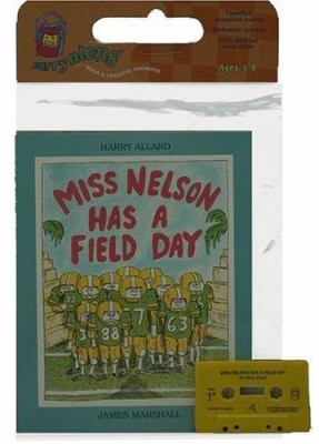 Miss Nelson Has a Field Day Book & Cassette [With Book] 9780395521380
