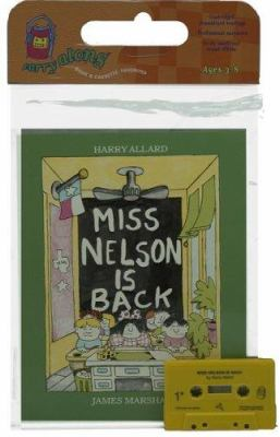 Miss Nelson Is Back Book & Cassette [With Book] 9780395488720