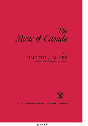 Music of Canada 9780393953763