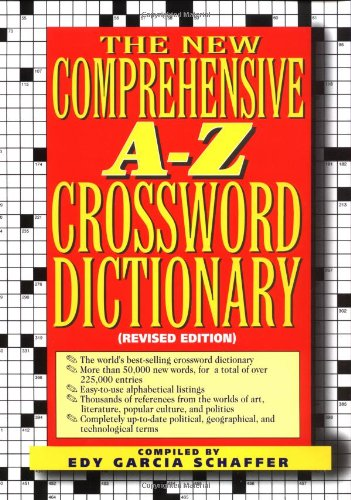 New Comprehensive A-Z Crossword Dictionary 9780399140976