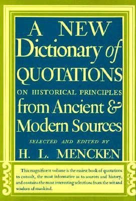 New Dictionary of Quotations 9780394400792