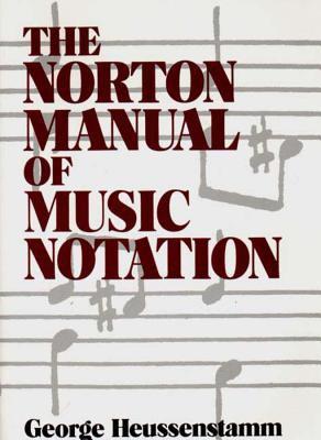 Norton Manual of Music Notation 9780393955262