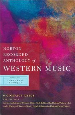 Norton Recorded Anthology of Western Music 9780393113099