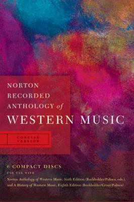 Norton Recorded Anthology of Western Music 9780393113129