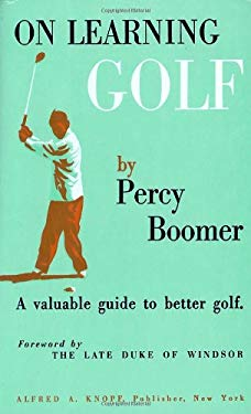 On Learning Golf: A Valuable Guide to Better Golf 9780394410081
