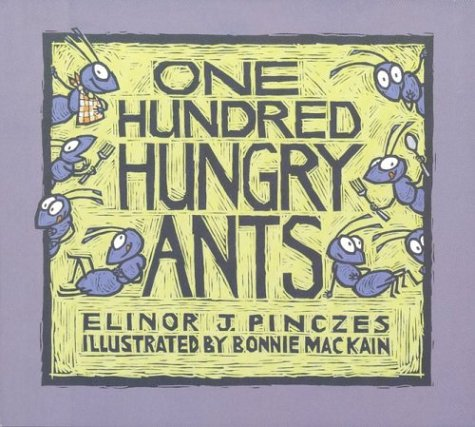 One Hundred Hungry Ants 9780395971239