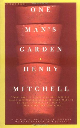 One Man's Garden 9780395957691