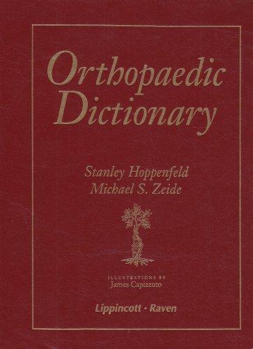 Orthopaedic Dictionary 9780397513116