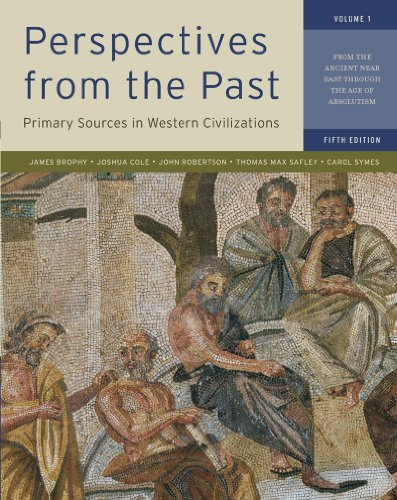 Perspectives from the Past, Volume 1: Primary Sources in Western Civilizations: From the Ancient Near East Through the Age of Absolutism 9780393912944