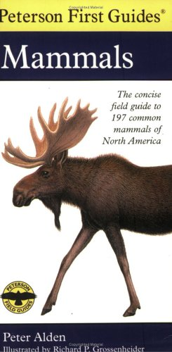 Peterson First Guide to Mammals of North America 9780395911815