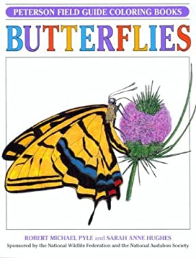Pfg Coloring Bk Butterflies 9780395346754